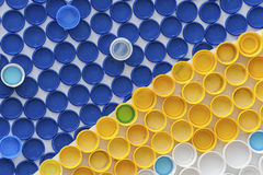 Plastic Bottle Caps Stock Photos
