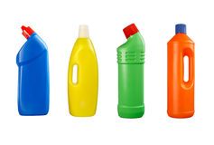 Plastic bottle cleaning Royalty Free Stock Image
