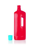Plastic bottle cleaning-detergent Stock Photography