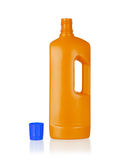 Plastic bottle cleaning-detergent Royalty Free Stock Image