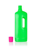 Plastic bottle cleaning-detergent Stock Photo