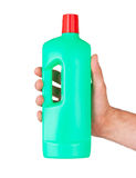 Plastic bottle cleaning-detergent Royalty Free Stock Photography