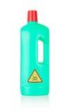 Plastic bottle cleaning-detergent, poisonous Stock Photo