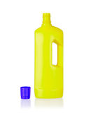 Plastic bottle cleaning-detergent Royalty Free Stock Photos