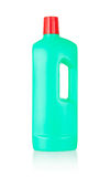 Plastic bottle cleaning-detergent Stock Images