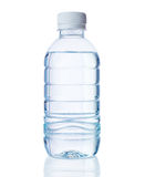 Plastic bottle of clear water Stock Photo