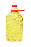 Plastic bottle of cooking oil Royalty Free Stock Photos
