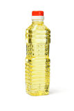 Plastic bottle of cooking oil Stock Image