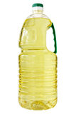 Plastic bottle of cooking oil Stock Photo