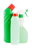 Plastic bottle with detergent Royalty Free Stock Photo