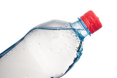 Plastic bottle of drinking water isolated Stock Photography
