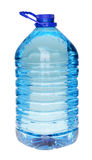 Plastic bottle of drinking water isolated on white Royalty Free Stock Photo