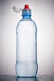 Plastic bottle of drinking water Royalty Free Stock Photography