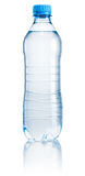 Plastic bottle of drinking water on white background royalty free stock photos