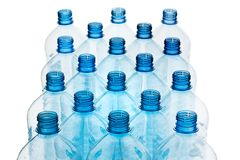 Plastic bottle. Empty plastic bottles. Many empty plastic bottles, plastic. Separate garbage and plastic waste Stock Image