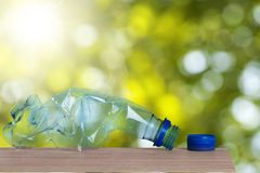 Plastic Bottle Garbage Stock Image