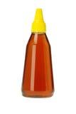 Plastic Bottle of Honey Stock Photography
