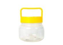Plastic bottle isolate Stock Image