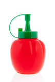Plastic bottle ketchup Stock Photos