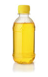 Plastic bottle of lemon syrop Stock Image