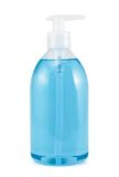 Plastic bottle of liquid soap isolated Stock Images