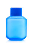 Plastic bottle for lotion Royalty Free Stock Image