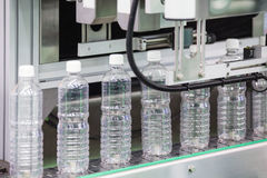 Plastic bottle manufacturing industrial Royalty Free Stock Photography