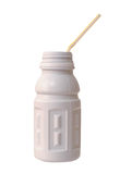 Plastic  bottle milk Royalty Free Stock Photography