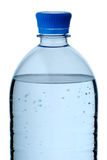 Plastic bottle of mineral water Royalty Free Stock Images