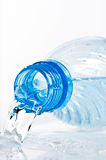Plastic bottle neck Royalty Free Stock Images