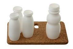 Plastic bottle packs Stock Photo