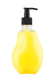 Plastic bottle of shampoo Stock Images