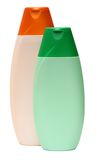 Plastic Bottle with Shampoo or hygienic cosmetic Stock Photography
