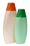 Plastic Bottle with Shampoo or hygienic cosmetic Royalty Free Stock Image