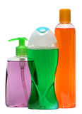 Plastic Bottle with Shampoo or hygienic cosmetic Stock Images