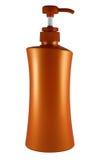 Plastic bottle of skin care product Stock Photo