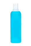 Plastic bottle with soap or shampoo Royalty Free Stock Images