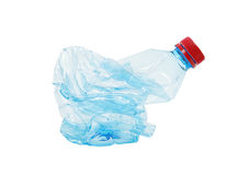 Plastic bottle waste Stock Image