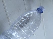 Plastic bottle of water Royalty Free Stock Photo