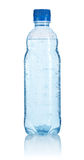 Plastic bottle of water isolated Royalty Free Stock Photos