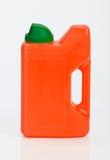 Plastic bottle on white Stock Image