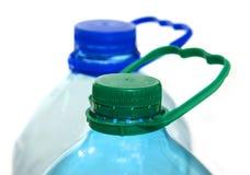 Plastic bottle. On the white background Stock Photo