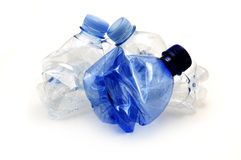 Plastic bottles Stock Photos