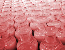 Plastic bottles. (texture Stock Images