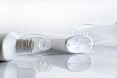 Plastic bottles Royalty Free Stock Photos