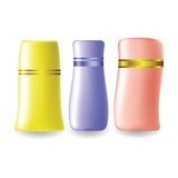 Plastic bottles for cosmetic Royalty Free Stock Photo
