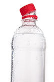 Plastic bottles of drinking water isolated Royalty Free Stock Photos