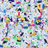 Plastic bottles garbage - background Royalty Free Stock Image