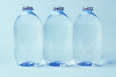 Plastic Bottles of Mineral water Stock Photo