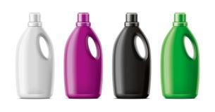 Plastic Bottles mockup. stock images